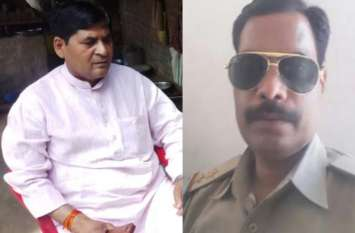भाजपा विधायक ने जिसे दी थी धमकी वह दरोगा पहुंचा अस्पताल, चल रह इलाज