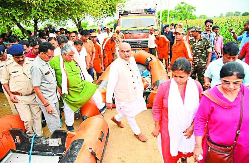 chambal Flood visit in shivraj singh chauhan today