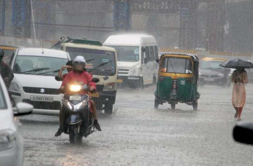 Rain in Gujrat : बालेटा में तीन मकान धराशायी, पांच लोगों को बचाया