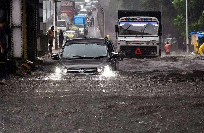 राजस्थान : यहां अचानक काली घटाओं के साथ पलटा मौसम, रुक-रुक कर हुई झमाझम बारिश