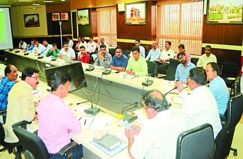 nagar nigam officer and gwalior administration meeting