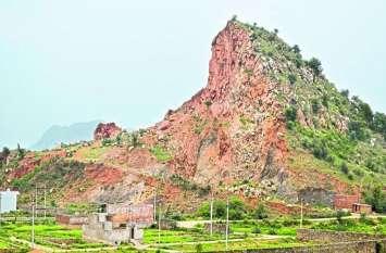 illigal mining in alwar घट रहा अरावली का कद, खनन माफिया बेकाबू