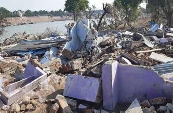 कोटा बाढ़:पीछे छोड़ गई तबाही के निशाँ...धीमी पड़ी मदद की रफ्तार, सेवाभाव सिर्फ आश्रय स्थलों तक सिमटा