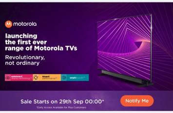 Motorola Smart TV: इन शानदार ऑफर्स के साथ 29 सितंबर को बिक्री के लिए होंगे उपलब्ध