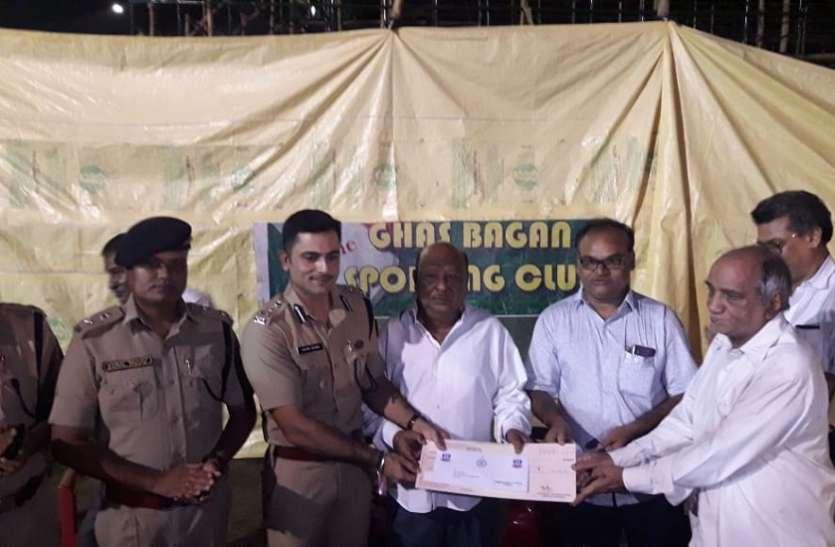 पुलिस आयुक्त ने लिया पूजा मंडप में सुरक्षा का जायजा
