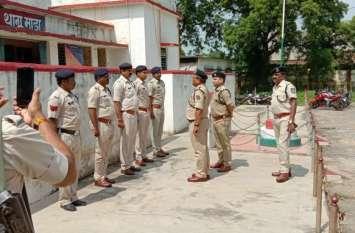 जिले में बढ़ते अपराध पर बोले आइजी: अपराध पर लगाम लगाना थानेदारों की जिम्मेदारी