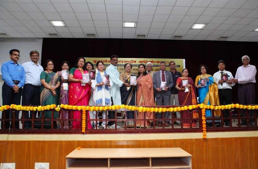 हिन्दी विकास पर मंथन के साथ SRM मेंदो दिवसीय साहित्योत्सव शुरू