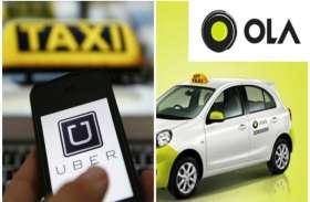 RTO के इस नियम के बाद, ओला-उबर की 70 फीसदी टैक्सी सडक़ों से गायब