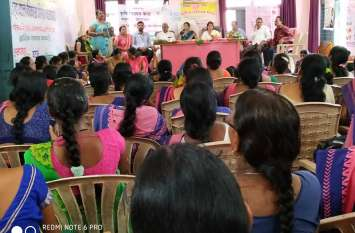 किरनापुर में किया गया पोषण सभा का आयोजन