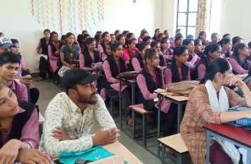 नव प्रवेशित छात्रों के ''प्रेरणा'' कार्यक्रम का समापन