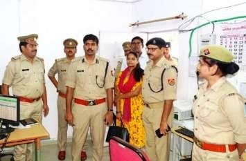 पुलिस अधीक्षक कार्यालय में अचानक पहुंच गया यह शख्स, कार्यालयों के रखरखाव और दस्तावेजों की करी जांच, मचा हड़कंप