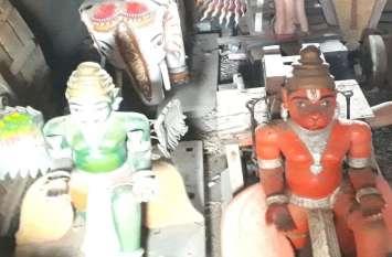 Balaji Mandir -  हनुमान, गरुड़, हाथी के साथ 300 साल पुरानी सवारी पर निकलेंगे बालाजी महाराज