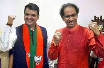 महाराष्ट्र चुनाव: बीजेपी-शिवसेना में डील पक्की, सीट शेयरिंग फार्म्युले पर 2 दिन में हो सकती है घोषणा