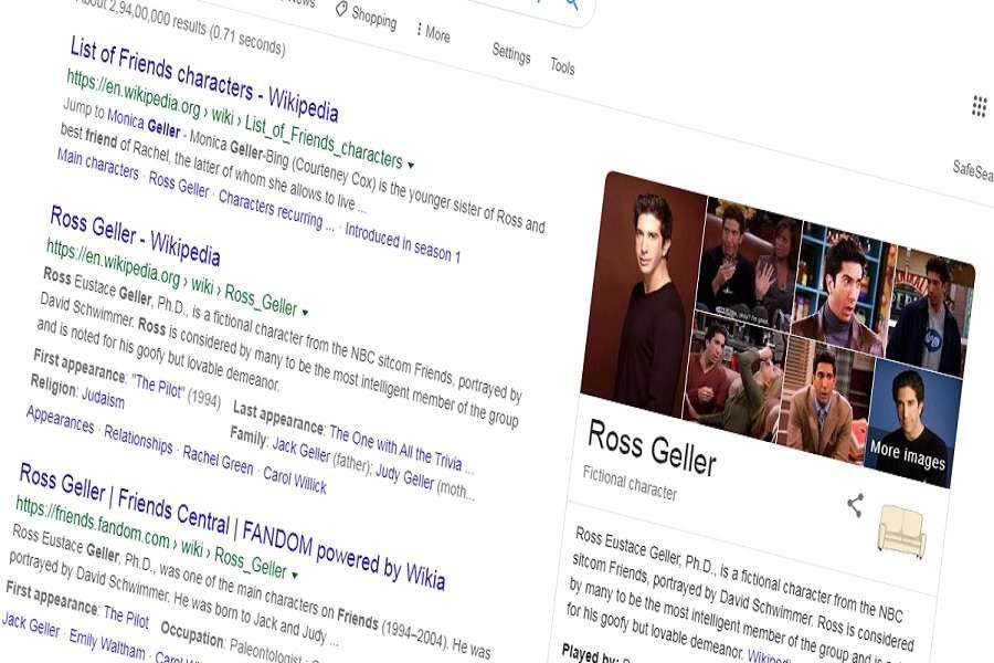 Google ने अनूठे अंदाज में फ्रेंड्स को किया याद