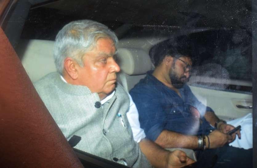 बंगाल की जेयू में हिंसा: राज्यपाल भड़के, दिए कार्रवाई के संकेत