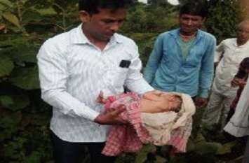 दो दिन की बच्ची से बेदर्दी, कई जगह चोटें, वीडियो में देखें उसकी हालत