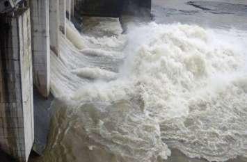 मध्यप्रदेश से हो रही है लगातार पानी की आवक, फिर खुले चम्बल के सभी बांधों के गेट