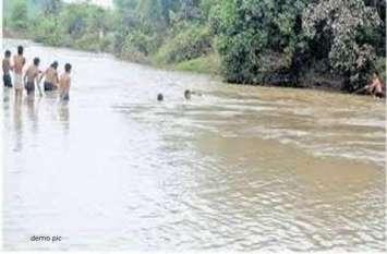 एनिकट पर बाइक पार करते उफनती नदी में बह गया युवक, 48 घंटे बाद मिली लाश