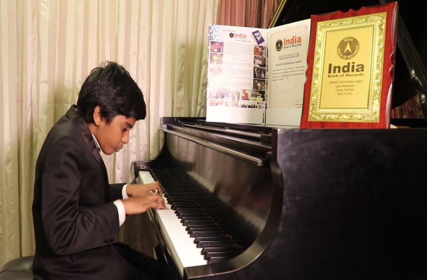 VIDEO: चेन्नई के 13 साल का पियानो मास्टर अपनी बहन की वजह से हुआ कामयाब
