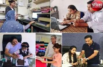 बिटिया @ Work : बेटियों ने पिता के ऑफिस पहुंच महसूस किया गर्व, जाना काम-काज, देखें पूरी तस्वीरें...