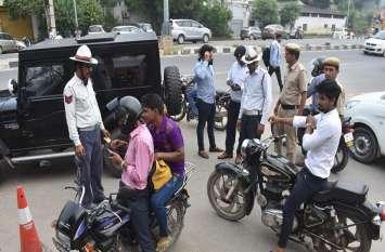 Traffic Rules Violations: बेटे के कानून तोडऩे की सजा पिता को मिली