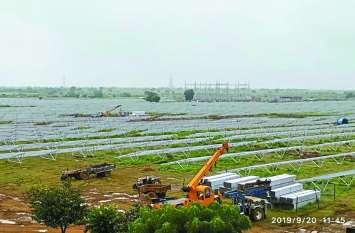 ग्वालियर-चंबल संभाग के पहले सोलर प्लांट में बनेगी 30 मेगावाट बिजली बनना, टाटा एनर्जी कंपनी का है प्लांट