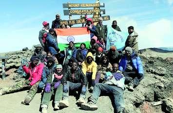 विश्व के चौथे सबसे ऊंचे शिखर पर फहराया तिरंगा, सिवनी की आहना ने सुनाए यात्रा के अनुभव