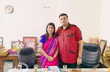 करिश्मा ने कहा अजय कपूर कांग्रेस की दीवार, हार से डरी बीजेपी फैला रही झूठी अफवाह