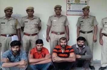 वसूली के लिए कुख्यात हिस्ट्रीशीटर ने युवक का किया अपहरण, धमकी देकर मांगे 90 हजार रुपए