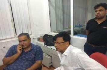 व्यापारी के साथ मारपीट कर छह लाख रुपए के नोटो से भरा बैग ले भागे बदमाश