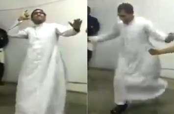 पादरी ने किया जबरदस्त डांस, देखते ही देखते वीडियो हो गया वायरल