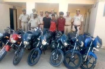 दिल्ली में 92 लाख की लूट का आरोपी राजस्थान में बाइक खरीदते हुए पकड़ा गया