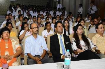 डॉ.के.एन.मोदी विश्वविद्यालय में स्मार्ट बिजनेस डिसीजन पर हुआ व्याख्यान