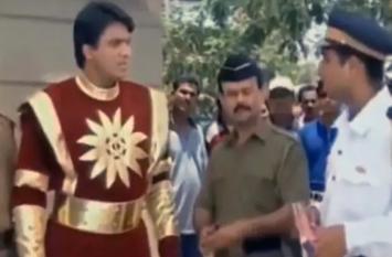 Viral Video: ट्रैफिक पुलिस ने काट दिया Shaktimaan का भी चालान, थमा दी इतने रुपए की रसीद
