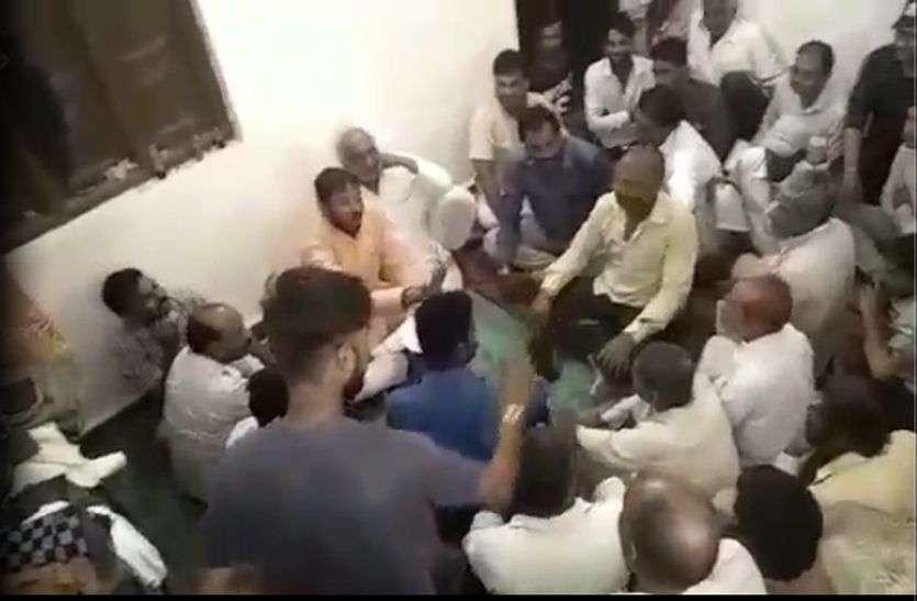 Bjp Congress Worker Fight In Madhya Pradesh