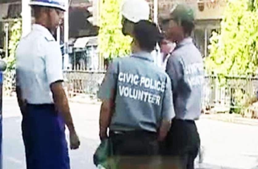 सिविक पुलिसकर्मी पर हमला, आरोप तृणमूल उपप्रधान पर