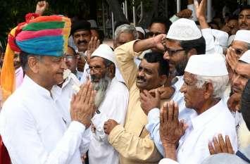 मुख्यमंत्री गहलोत ने तीन घंटे सुनी जनता की फरियाद, 6 हजार से ज्यादा लोग पहुंचे जनसुनवाई में
