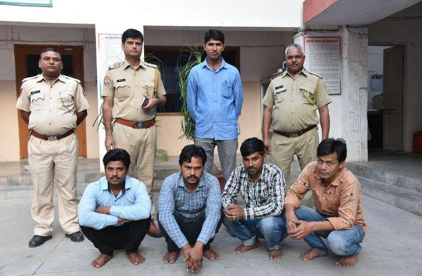 जयपुर को उड़ता पंजाब बनाने आया गिरोह, पुलिस की होशियारी से पकड़ा गया, भारी मात्रा में नशा बरामद