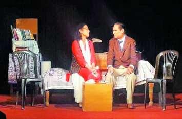 alwar @ 'मैं तुम्हे फिर मिलूंगी नाटक में दर्शक भाव विभोर