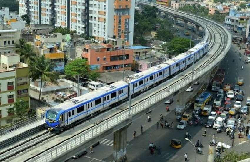 light metro in the city