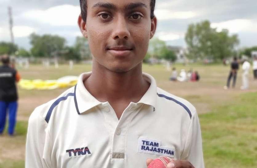 अविश्वसनीय : नागौर के रौनक गौड़ ने बिना रन दिए चटके 7 विकेट