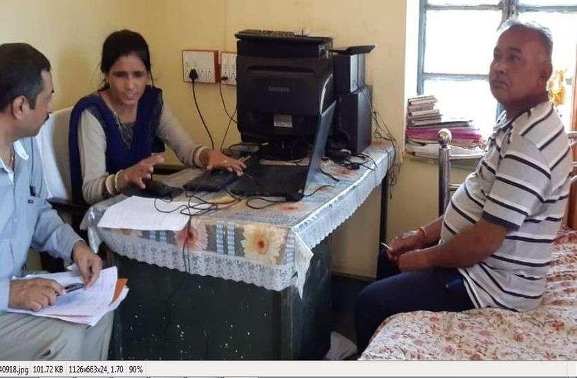 नर्मदा नहर काAEN जगदीशचन्द्र  एक लाख रुपए की रिश्वत लेते गिरफ्तार