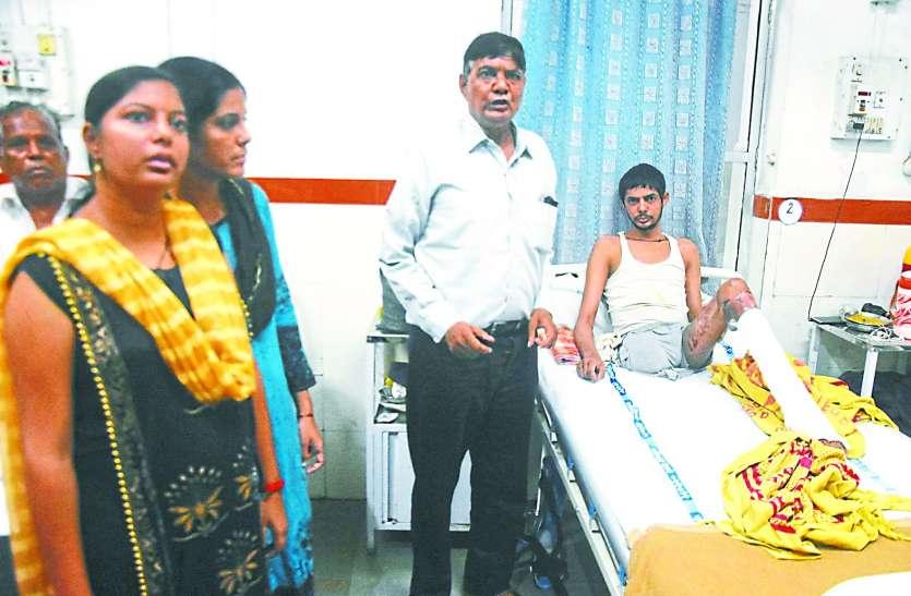 रेलवे अस्पताल में हंगामा : मरीज के परिजन ने आया का दबाया गला, की मारपीट
