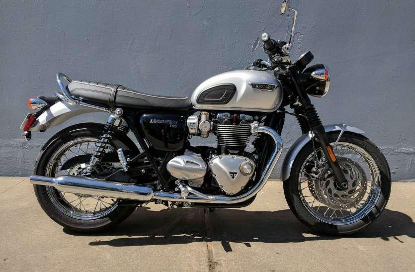मात्र 11990 रुपए में मिल रही है 10 लाख की कीमत वाली नई Triumph Bonneville, जानें पूरा ऑफर