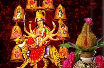 कलश स्थापना के साथ शुरू हुई देवी की आराधना