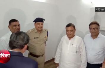 Ghaziabad: मंत्री ने सुनी पुलिस की गुजारिश और दे दिया यह तोहफा- देखें वीडियो