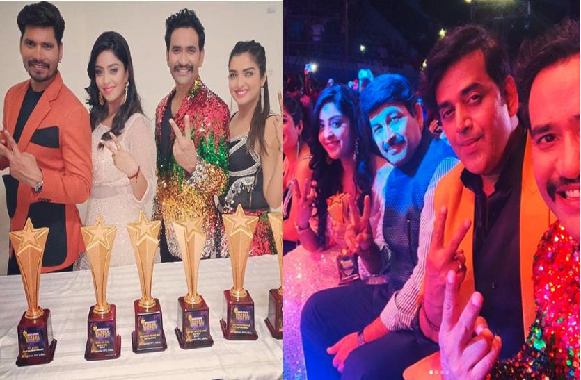 Bhojpuri Cine Awards 2019 : खेसारी, निरहुआ, आम्रपाली सहित इन स्टार्स की रही धूम, यहां देखें विनर्स लिस्ट