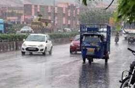 विदा होता मानसून जयपुर में कर रहा झमाझम बारिश