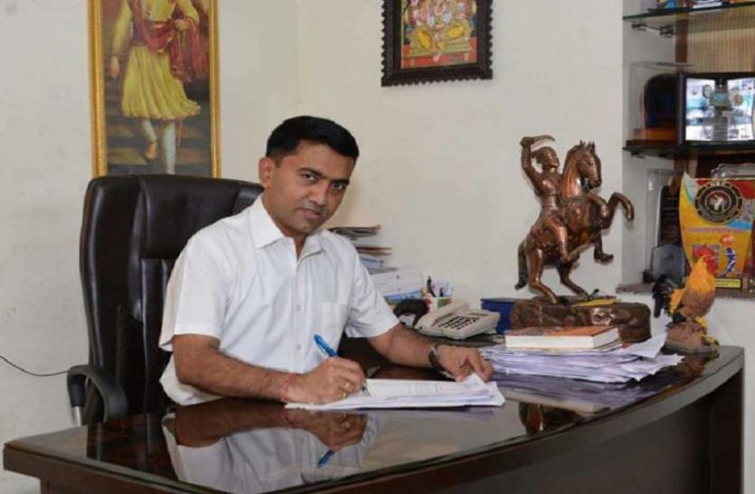 गोवा के CM प्रमोद का ऐलान, 2022 तक पूरी होंगी सावंत पर्रिकर की सभी परियोजनाएं