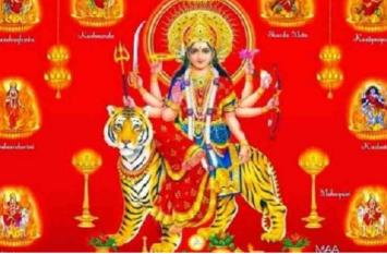 पर्यावरण बचाव का संदेश देंगी मां दुर्गा